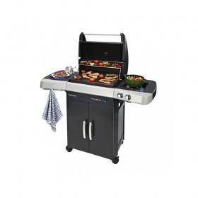 Barbecue A Gas Sistema Antifumo Con Fornello Laterale Campingaz 2 Series Rbs Lxs