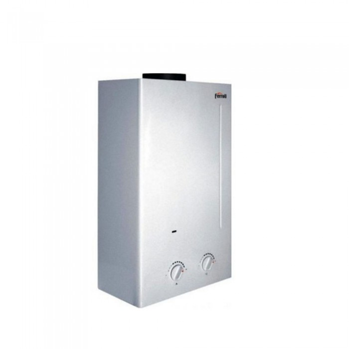 Scaldabagno istantaneo a gas ferroli zefiro c11 camera aperta 11 l min metano - Scaldabagno istantaneo ...