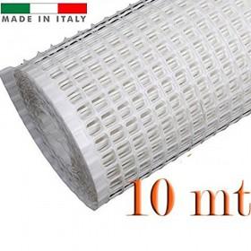 RETE PER BALCONI BIANCA MM.10X10 H.100 (ROTOLO DA MT.10)