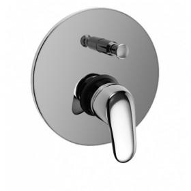 monocomando incasso doccia serie kappa con deviatore