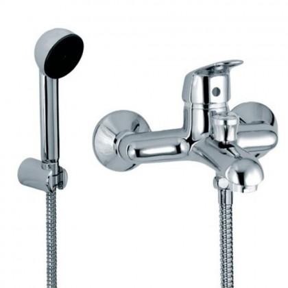 monocomando vasca esterno con doccia serie kappa