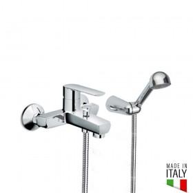 RUBINETTO MISCELATORE PER VASCA EURORAMA MADE IN ITALY SERIE KLINT